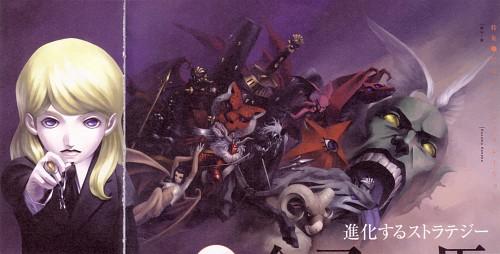 Kazuma Kaneko, Atlus, Shin Megami Tensei, Lucifer (Shin Megami Tensei), Decarabia