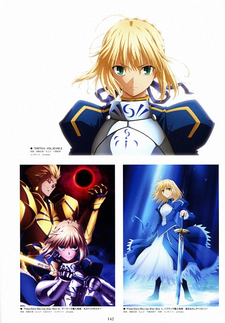 Ufotable, TYPE-MOON, Fate/Zero, Fate/Zero Animation Visual Guide II, Gilgamesh (Fate/stay night)