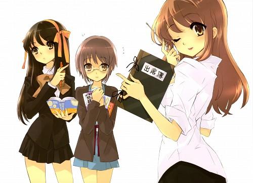 Noizi Ito, Kyoto Animation, The Melancholy of Suzumiya Haruhi, Haruhi Suzumiya, Yuki Nagato