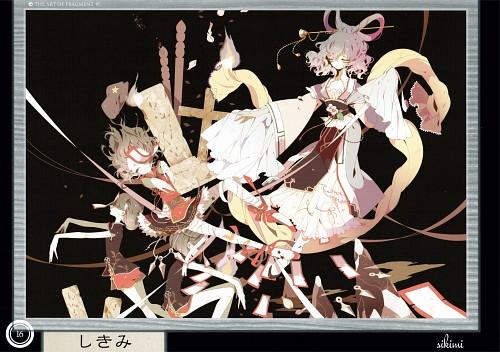 Shikimi (Mangaka), Touhou Project Tribute Arts - Fragment 1, Touhou, Yoshika Miyako, Seiga Kaku