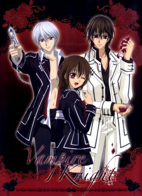 Matsuri Hino, Studio Deen, Vampire Knight, Kaname Kuran, Yuuki Cross