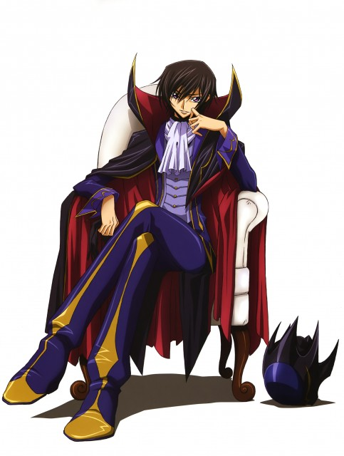 Takahiro Kimura, Sunrise (Studio), Lelouch of the Rebellion, Code Geass Illustrations Relation, Lelouch Lamperouge