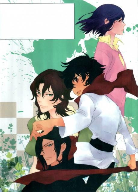 Yun Kouga, Mobile Suit Gundam 00, Gundam 00 Yun Kouga: Dear Meisters Comic & Arts, Lockon Stratos, Setsuna F. Seiei