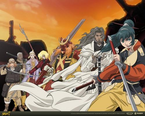 Gonzo, Samurai 7, Katayama Gorobei, Heihachi Hayashida, Shichiroji