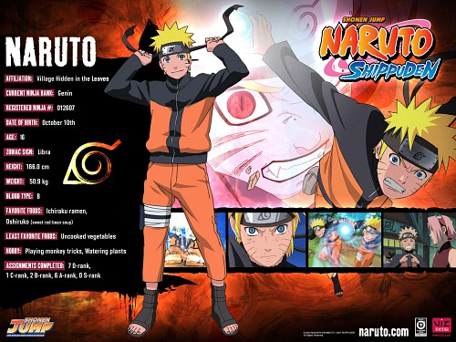 Studio Pierrot, Naruto, Naruto Uzumaki, Naruto Kyuubi Mode, Official Wallpaper