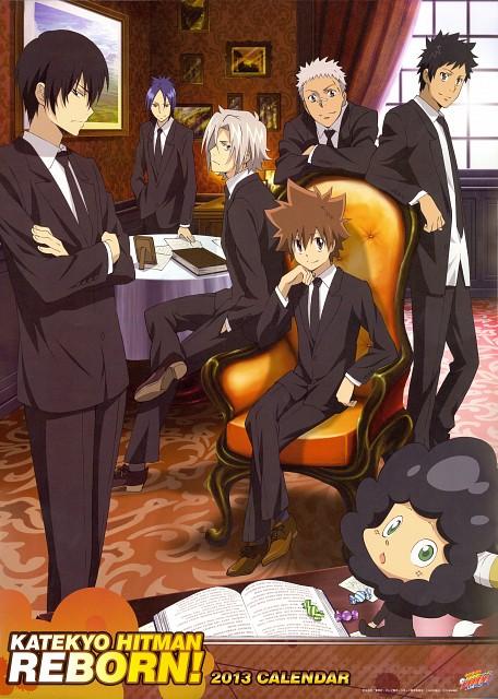 Akira Amano, Artland, Katekyo Hitman Reborn!, Katekyo Hitman Reborn! 2013 Calendar A, Ryohei Sasagawa