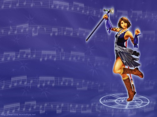 Square Enix, Final Fantasy X-2, Yuna, Magic Wallpaper