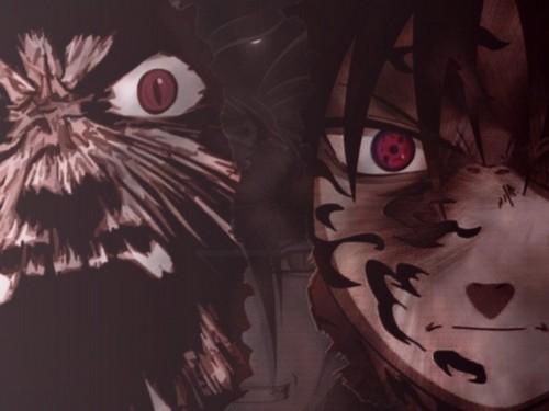 Masashi Kishimoto, Studio Pierrot, Naruto, Naruto Kyuubi Mode, Sasuke Cursed Seal Wallpaper
