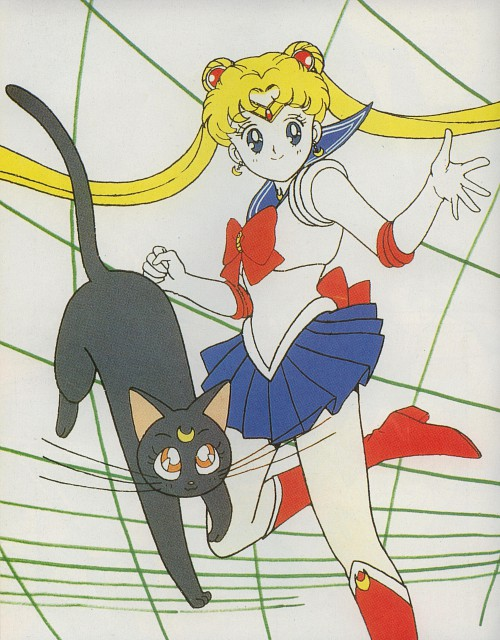 Toei Animation, Bishoujo Senshi Sailor Moon, Luna, Sailor Moon