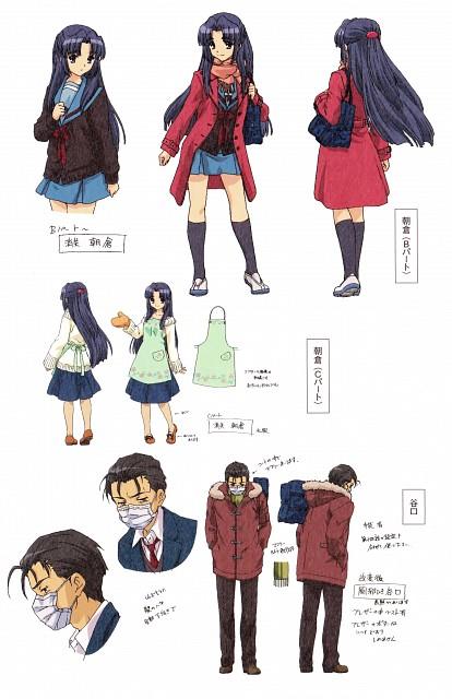 Kyoto Animation, The Melancholy of Suzumiya Haruhi, Ryoko Asakura, Character Sheet