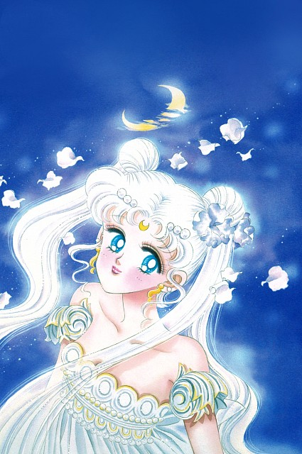 Naoko Takeuchi, Bishoujo Senshi Sailor Moon, BSSM Original Picture Collection Vol. II, Princess Serenity