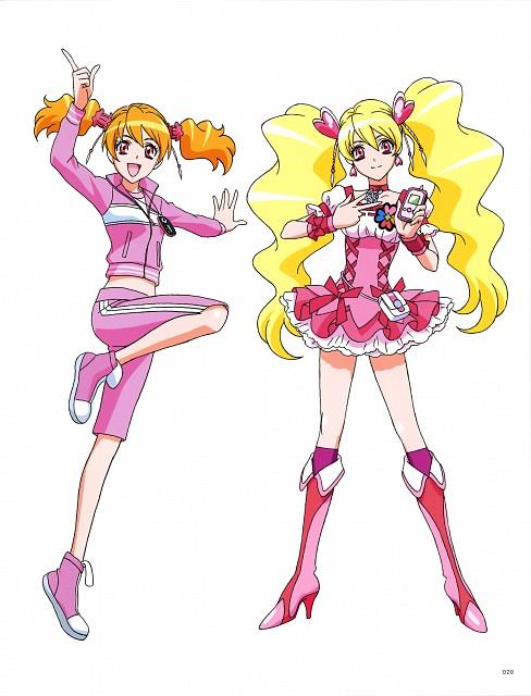 Toei Animation, Fresh Precure!, Hisashi Kagawa Toei Animation Precure Works, Love Momozono, Cure Peach