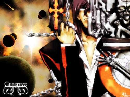 Madhouse, Gungrave, Brandon Heat Wallpaper