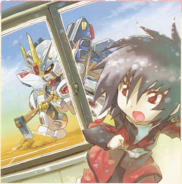 RGB, Mobile Suit Gundam SEED Destiny, Shinn Asuka, Newtype Magazine