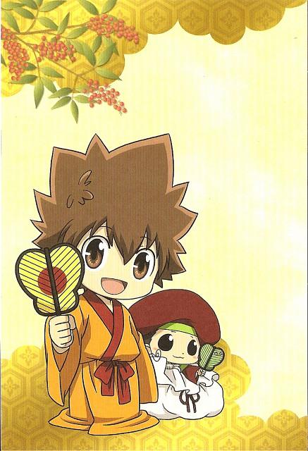 Akira Amano, Katekyo Hitman Reborn!, Reborn (Character), Tsunayoshi Sawada