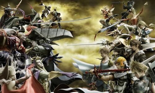 Square Enix, Final Fantasy Dissidia, Kuja, Ultimecia, Firion