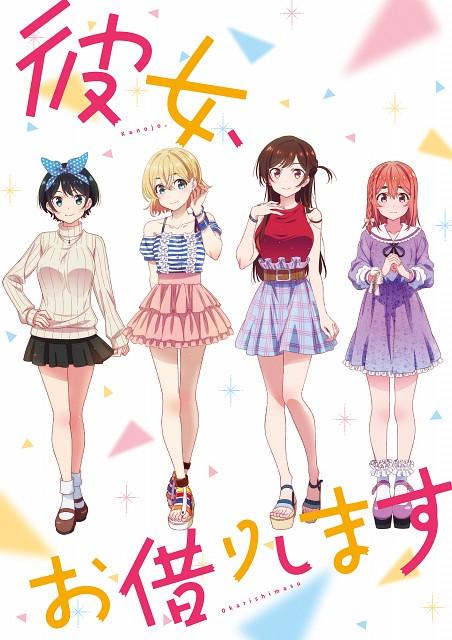 TMS Entertainment, Kanojo Okarishimasu, Ruka Sarashina, Chizuru Mizuhara, Mami Nanami