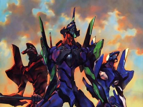 Yoshiyuki Sadamoto, Gainax, Neon Genesis Evangelion, Unit-00, Unit-02