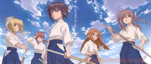 Bamboo Blade, Sayako Kuwahara, Satori Azuma, Tamaki Kawazoe, Kirino Chiba