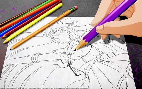 Toei Animation, Bishoujo Senshi Sailor Moon, Sailor V Wallpaper