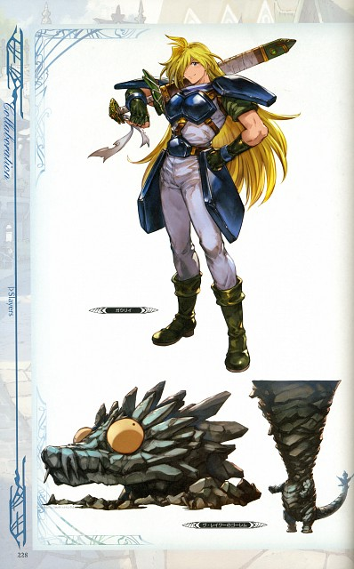 Hideo Minaba, Cygames, Slayers, Granblue Fantasy - Graphic Archive, Granblue Fantasy