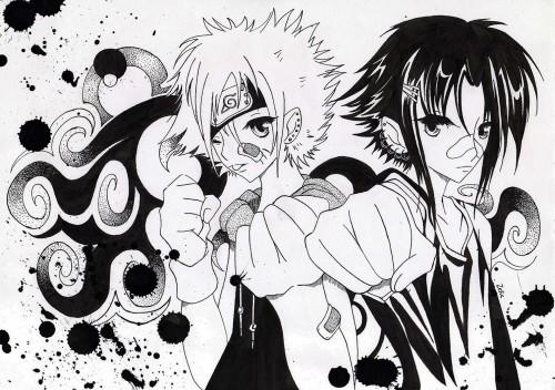 Studio Pierrot, Naruto, Sasuke Uchiha, Naruto Uzumaki, Member Art