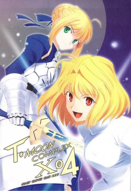 TYPE-MOON, Shingetsutan Tsukihime, Fate/stay night, Arcueid Brunestud, Saber