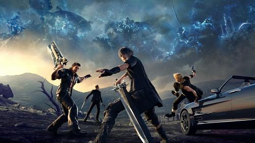 Final Fantasy XV, Ignis Stupeo Scientia, Prompto Argentum, Gladiolus Amicitia, Noctis Lucis Caelum