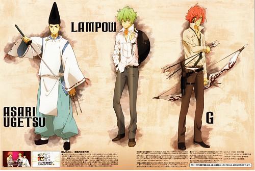 Akira Amano, Katekyo Hitman Reborn!, Lampou, G., Asari Ugetsu