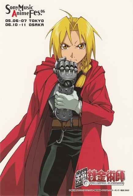 BONES, Fullmetal Alchemist, Edward Elric