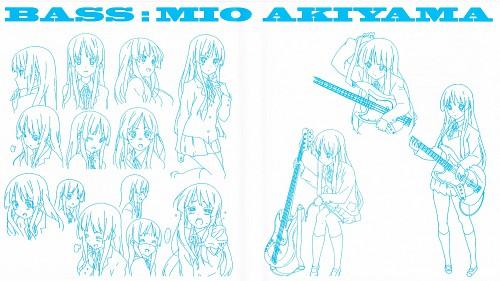 Kakifly, Kyoto Animation, K-On!, Mio Akiyama, Character Sheet