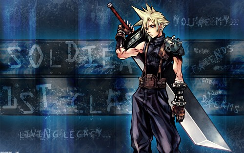 Square Enix, Final Fantasy VII, Cloud Strife Wallpaper