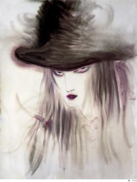 Yoshitaka Amano, Vampire Hunter D, Coffin: The Art of Vampire Hunter D