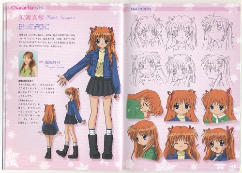 Kazumi Ikeda, Kyoto Animation, Key (Studio), Kanon, Makoto Sawatari