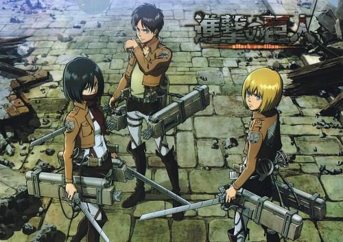 Hajime Isayama, Production I.G, Shingeki no Kyojin, Mikasa Ackerman, Armin Arlert