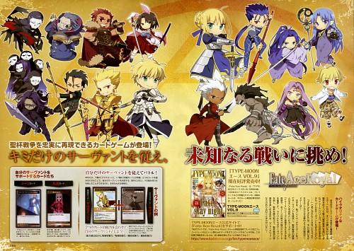 Fate/Zero, Kara no Kyokai, Fate/Prototype, Fate/stay night, Lancer (Fate/Zero)