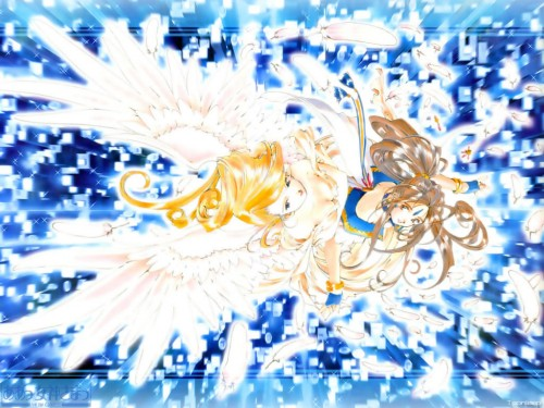 Kousuke Fujishima, Anime International Company, Ah! Megami-sama, Holy Bell, Belldandy Wallpaper