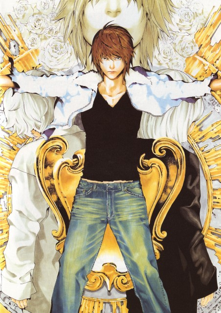 Takeshi Obata, Death Note, Blanc et Noir, Mello, Light Yagami