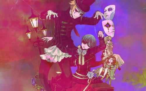 Yana Toboso, A-1 Pictures, Kuroshitsuji, Drocell Cainz, Ciel Phantomhive Wallpaper