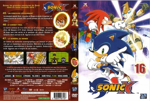Sega, TMS Entertainment, Sonic Series, Knuckles the Echidna, Sonic the Hedgehog