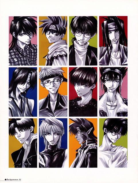 Kazuya Minekura, Wild Adapter, Bus Gamer, Saiyuki, Sha Gojyo