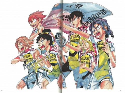 Wataru Watanabe, TMS Entertainment, Yowamushi Pedal, Yowamushi Pedal Colors, Shoukichi Naruko