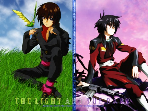 Sunrise (Studio), Mobile Suit Gundam SEED Destiny, Torii (Gundam SEED), Shinn Asuka, Kira Yamato Wallpaper