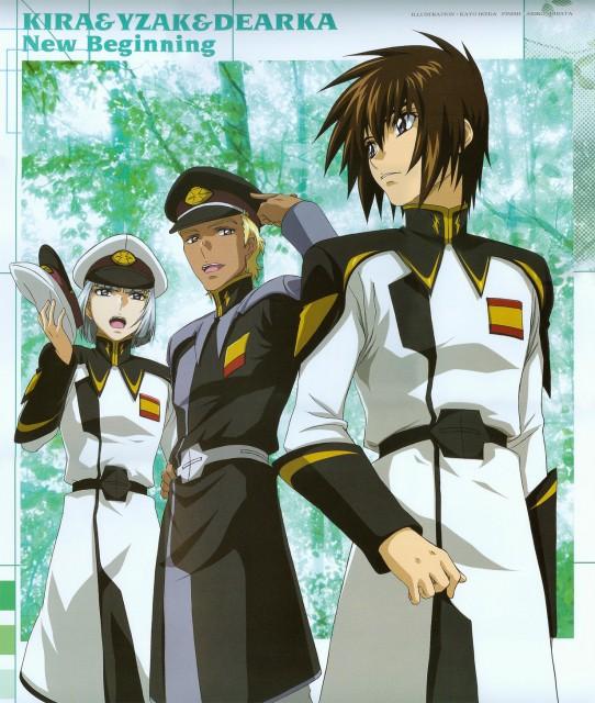 Mobile Suit Gundam SEED Destiny, Kira Yamato, Yzak Joule, Dearka Elthman, Calendar