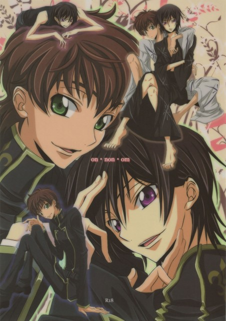 Lelouch of the Rebellion, Lelouch Lamperouge, Suzaku Kururugi, Doujinshi, Doujinshi Cover
