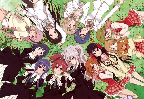 Madhouse, Strawberry Panic!, Hikari Konohana, Remon Natsume, Amane Ohtori