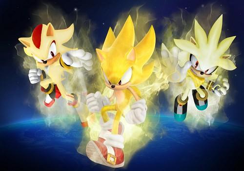 Sega, Sonic the Hedgehog, Sonic, Silver The Hedgehog, Shadow the Hedgehog