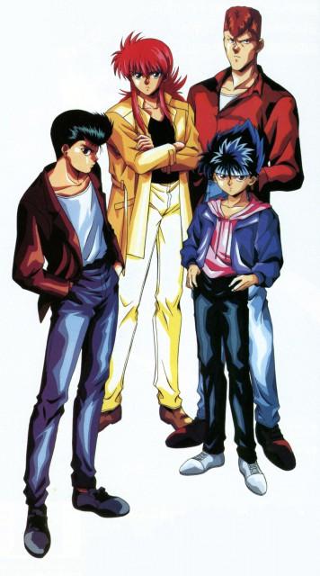 Studio Pierrot, Yuu Yuu Hakusho, Kazuma Kuwabara, Yusuke Urameshi, Kurama