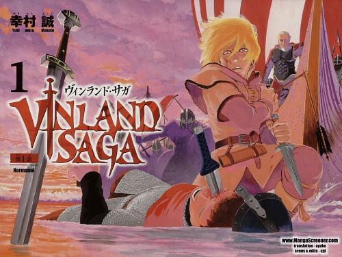 Makoto Yukimura, Vinland Saga, Thorfinn, Askeladd, Manga Cover