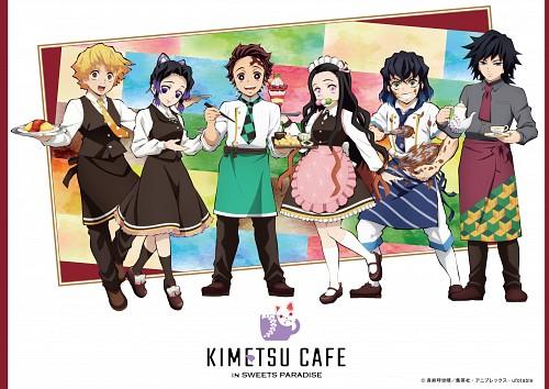 Ufotable, Kimetsu no Yaiba, Shinobu Kochou, Inosuke Hashibira, Tanjirou Kamado